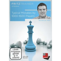 Typical Mistakes by 1000-1600 Players de Nicholas Pert