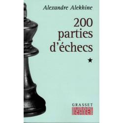 200 parties d'échecs vol.1 d'Alexandre Alekhine