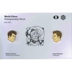 Double pin's Carlsen...