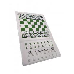 Jeu d'échecs de voyage en...