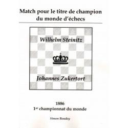 Match pour le titre de champion du monde d'échecs vol.1 de Simon Boudey