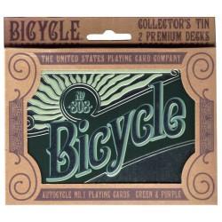 Double jeu de cartes Bicycle Rétro