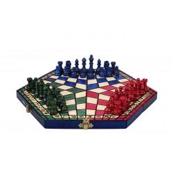 Jeu d'échecs Yalta pour trois joueurs