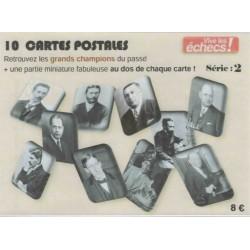 10 cartes postales...