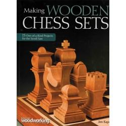 Making Wooden Chess Sets de Jim Kape