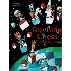 Livre de coloriage Teaching Chess Step by Step