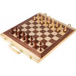 Coffret de jeu d'échecs et...