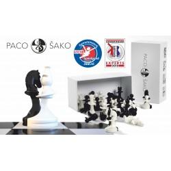 Pièces d'échecs Paco Sako